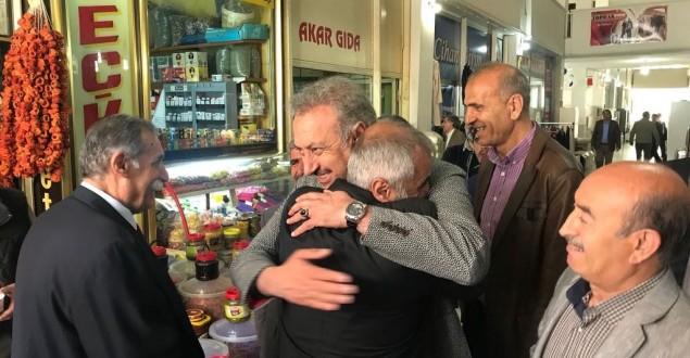 AK PARTİ'DEN ESNAF ZİYARETİ
