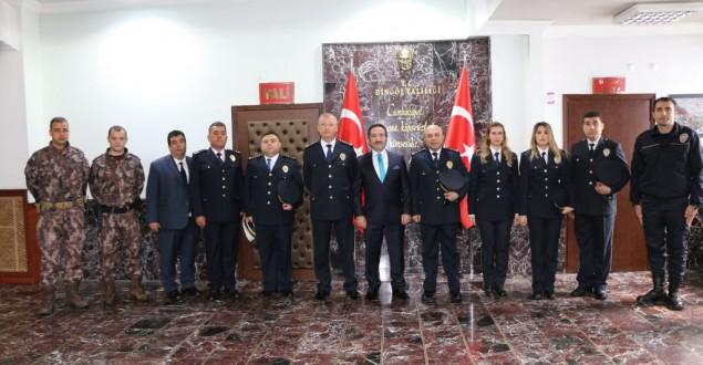 BİNGÖL'DE TÜRK POLİS TEŞKİLATININ 173. YIL DÖNÜMÜ