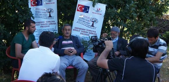 'DEDEDEN TORUNA SÖZLÜ TARİH MİRASI'2 AHMET ÇELİK