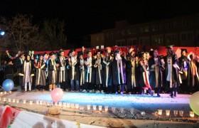 Festival Havasında Mezuniyet Töreni
