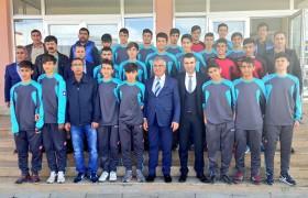 BARAKAZİ, U-17 TAKIMINI MALATYA'YA UĞURLADI