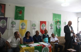 HDP SOLHAN İLÇE KONGRESİ YAPILDI