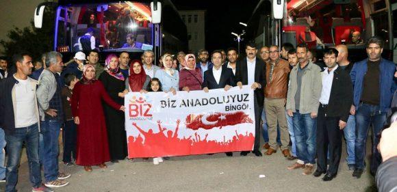 KARABÜK'E İKİNCİ KAFİLE UĞURLANDI