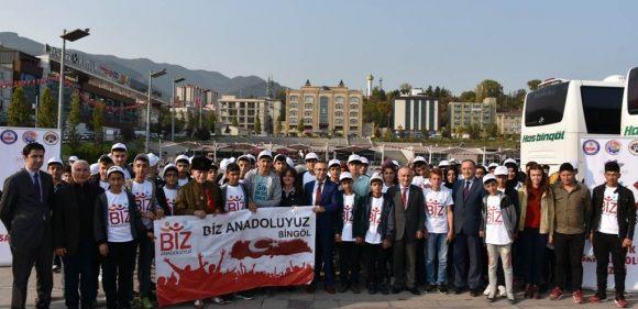 """BİZ ANADOLUYUZ"" İKİNCİ KAFİLESİ KARŞILANDI"