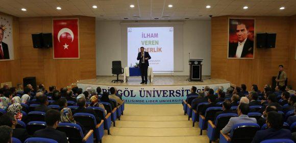 'İLHAM VEREN LİDERLİK' KONULU SEMİNER VERİLDİ.