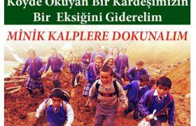MİNİK KALPLERE DOKUNALIM