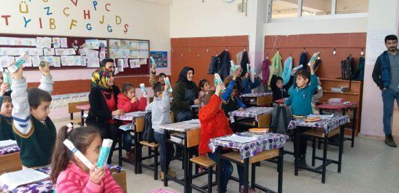 """""""ÇOCUKLARA BİR YUDUM MUTLULUK"""" PROJESİ START VERDİ"""