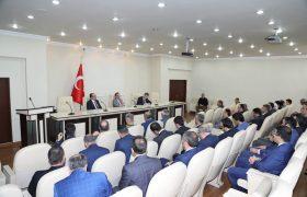 'İŞBİRLİĞİ VE KOORDİNASYON TOPLANTISI' YAPILDI